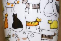 Cup doodles