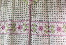 cortina croche