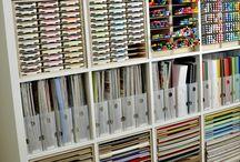 Järjestäminen / Tavaroiden järjestäminen järkevästi, oivaltavia organisointi ratkaisuja