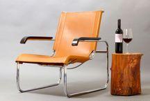 Bauhaus-Klassiker: Stahlrohrstühle von Mauser und Thonet / Original Stahlrohr-Stühle der Mid-Century-Moderne.