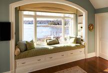 window seats / by Rebecca Graue Chambers