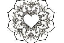 *~~»~~Mandala Art / Draw Ideas~~«~~*