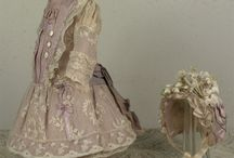 poppenkleding voor antieke poppen