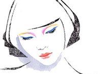 ilustracje moda