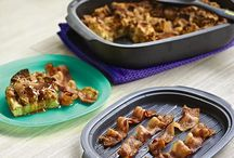 """""""Ultra"""" Delicious / Recipes featuring our versatile ovenware—UltraPro. It's safe for the oven, microwave, fridge and freezer and ridiculously easy to clean."""