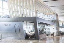 Airport interior inspirations