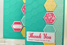 SU - Hexagon Cards / by FunintheSon