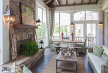 Screened in porch ideas / by Bridgette Lewis