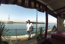 Bar One / sailor's bar in Marina Rubicón Playa Blanca
