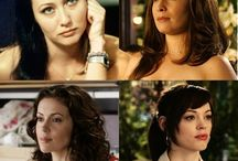 Prue piper Paige Pheobe / The charmed ones in there natural life