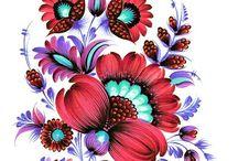 Kresby kvety