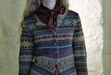Fair Isle/Stranded Inspiration and Possibilities / Sweaters and knitting that catch my eye Images that can inspire patterns