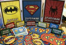 Superhero Party Ideas / With great Power, comes great responsibility...