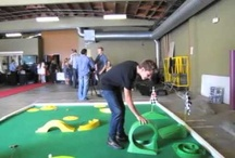 My mini Golf fun videos / With a golf pro, at a Boys & Girls Club, with family at home! And, for fun, with celebrities!