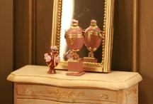 Montheron Dollshouse Miniature Mirrors