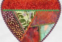 cuori in patchwork