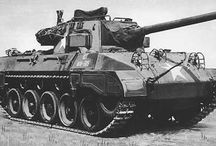 World war 2 us tanks & destroyers