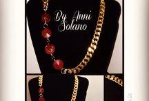 Accesorios / Collares  con piedras semi preciosas ,drusas , sharosqui , perlas de vidrio