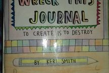 Wreck this journal / wreck with me/