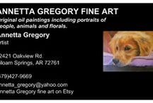 annetta gregory fine art / by Annetta Gregory Art