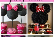 Minnie Mouse Party Ideas / Minnie Mouse, Cake, birthday party ideas, Party, 1st birthday party ideas, printables, quotes, party, diy