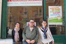 Ressources Solidaires, promotion de l'économie sociale et solidaire / Ressources Solidaires est le premier portail d'emploi et média en ligne grand public national sur l'économie sociale et solidaire.