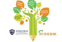 Professional BBA, MBA https://www.lincoln-edu.ae