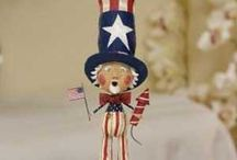 4th of July / Holidays, 4th of July, decorating, red, white & blue,