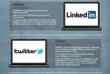 Infographics / A collection of social media infographics