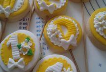 işte benim pasta ve kurabiyelerim / Çok severek yaptığım çalışmalarımpa