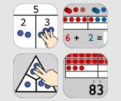 Matematika-manipulativa /Math manipulatives / iPad aplikace pro vzdělávání iPad apps for education  manipulace s prvky, počítání s názorem