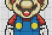 pixeldeken haken