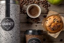 GAWATT / Branding for GAWATT Coffee Shop http://www.backbonebranding.com/#/gawatt/