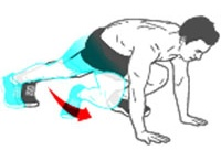 leg work out / by