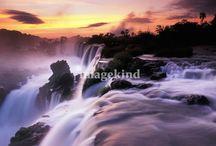 Art | Wonderous Waterfalls / Wall art featuring waterfalls by artists on Imagekind.