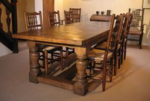 Country style and rustic furniture