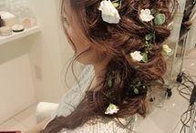 ウエディング 髪型