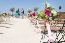 Wedding Ideas - Beach Wedding / When you attend a beach wedding with these unique and lovely wedding favors, you wouldn't want to leave yours behind. You'd surely love it so much you might even ask if there's an extra!