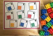 blocks and math