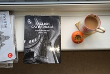 On the sill / What  books Architectural Photographer, Andy Marshall has on his window sill