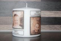 Decoratiekaarsen / Gedecoreerde kaarsen