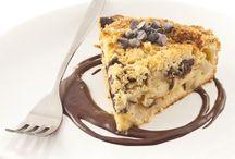 gâteau crumble poire choco