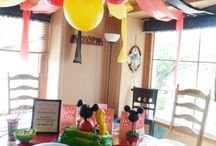 Boys joint birthday decorations