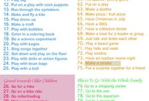 Summer Ideas for Families