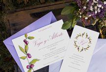"""♥ LMC - Invitaciones de Boda """"Colección Nature"""" / Wedding Invitations by La Marimorena Creativos - """"Nature Collection"""" 2016 www.lamarimorenacreativos.bigcartel.com  #boda #wedding #graphicdesign #invitation"""