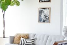 Vår nya lägenhet / Inredningsinspiration