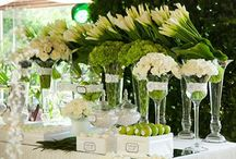Свадьба в зеленом цвете / Green color wedding / Подписывайтесь на наши доски. Мы внимательно следим за свадебными трендами и подбираем только стильные и нетривиальные идеи для свадьбы.