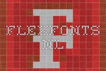 flexfonts, leuke lettertypes