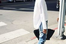look casual chic / street style