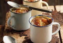 Pudding in a mug